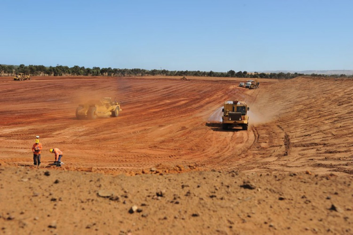 Recovery Dam 7 Facility for Iluka Resources