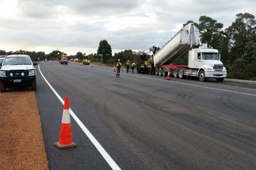 Shoulder Widen and Seal (51-65 SLK) Intersection upgrade Brand Hwy, Mogumber Road and Orange Springs Road