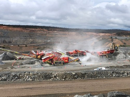 Roadbase and Stemming Crushing - Newmont